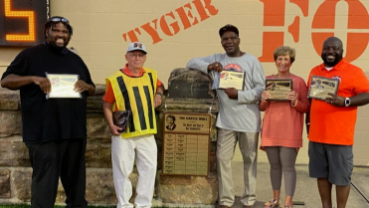 Mansfield City Schools Inducts New Castle Wall Honorees
