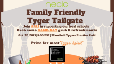 Tyger Tailgate Friday Oct 22, 2021 at Mansfield Tygers Practice Field