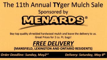 11th Annual TYger Mulch Sale