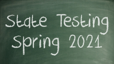 Spring Testing Through May 2021