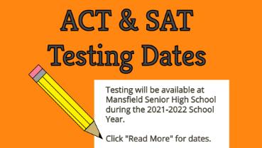 ACT & SAT Testing Dates