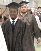 grads walking mug