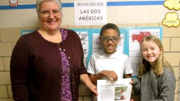 Australian wildlife have a friend in Spanish Immersion fifth-grader