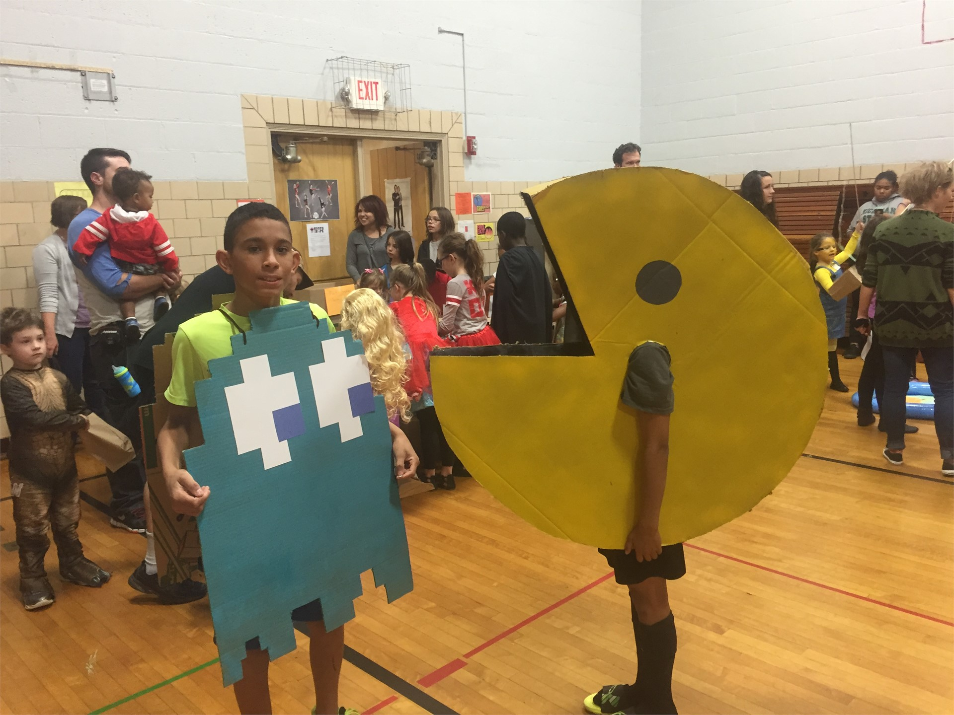 Family Math Night with Costumes