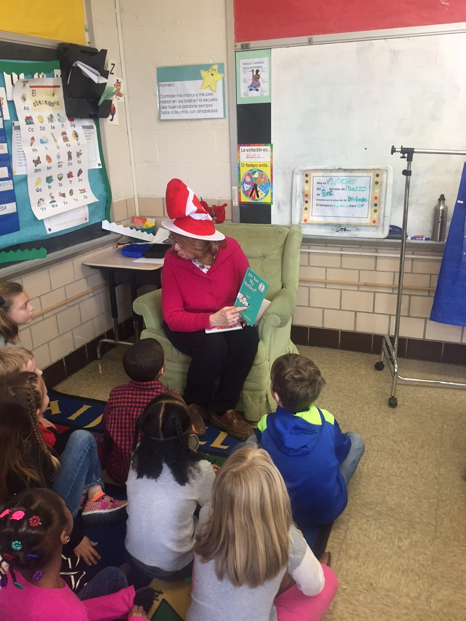 Dr. Seuss Celebration w/Board Member