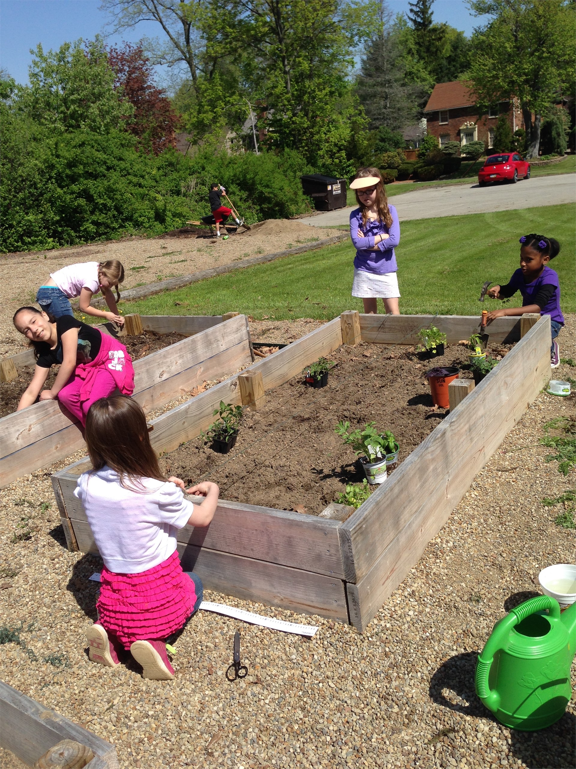 Building Our Raised Garden Beds