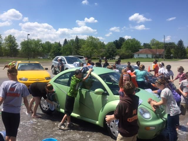 Car Wash to Buy New Library Books