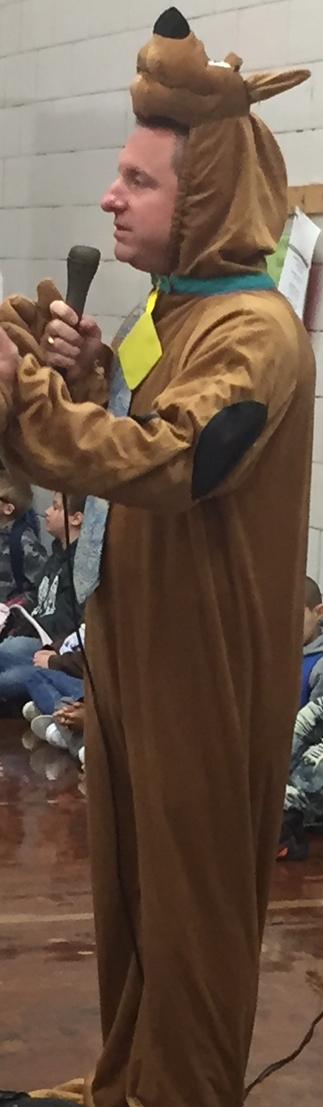 """Principal """"Scooby Doo"""" Hager"""