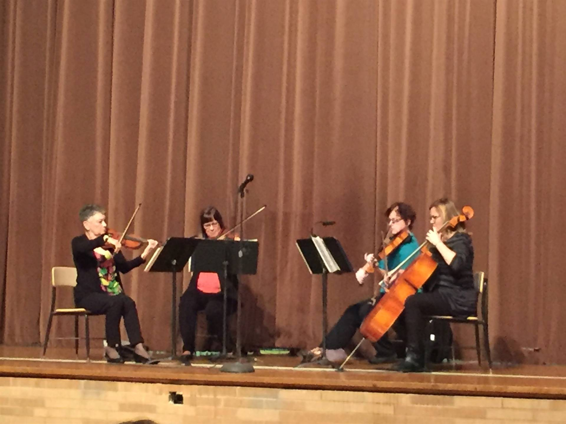 String Quartet from Mansfield Symphony