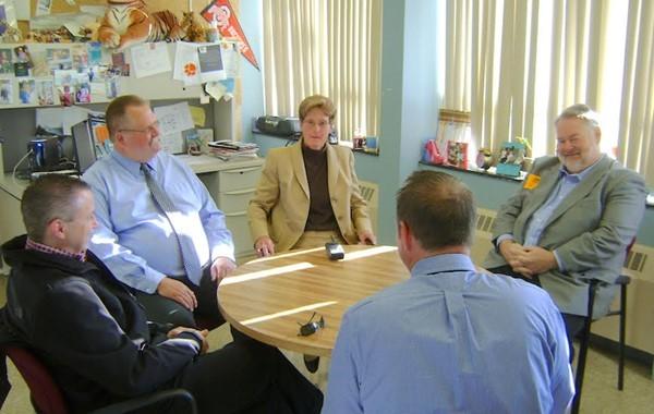 State Representative Mark Romanchuk Visits Malabar