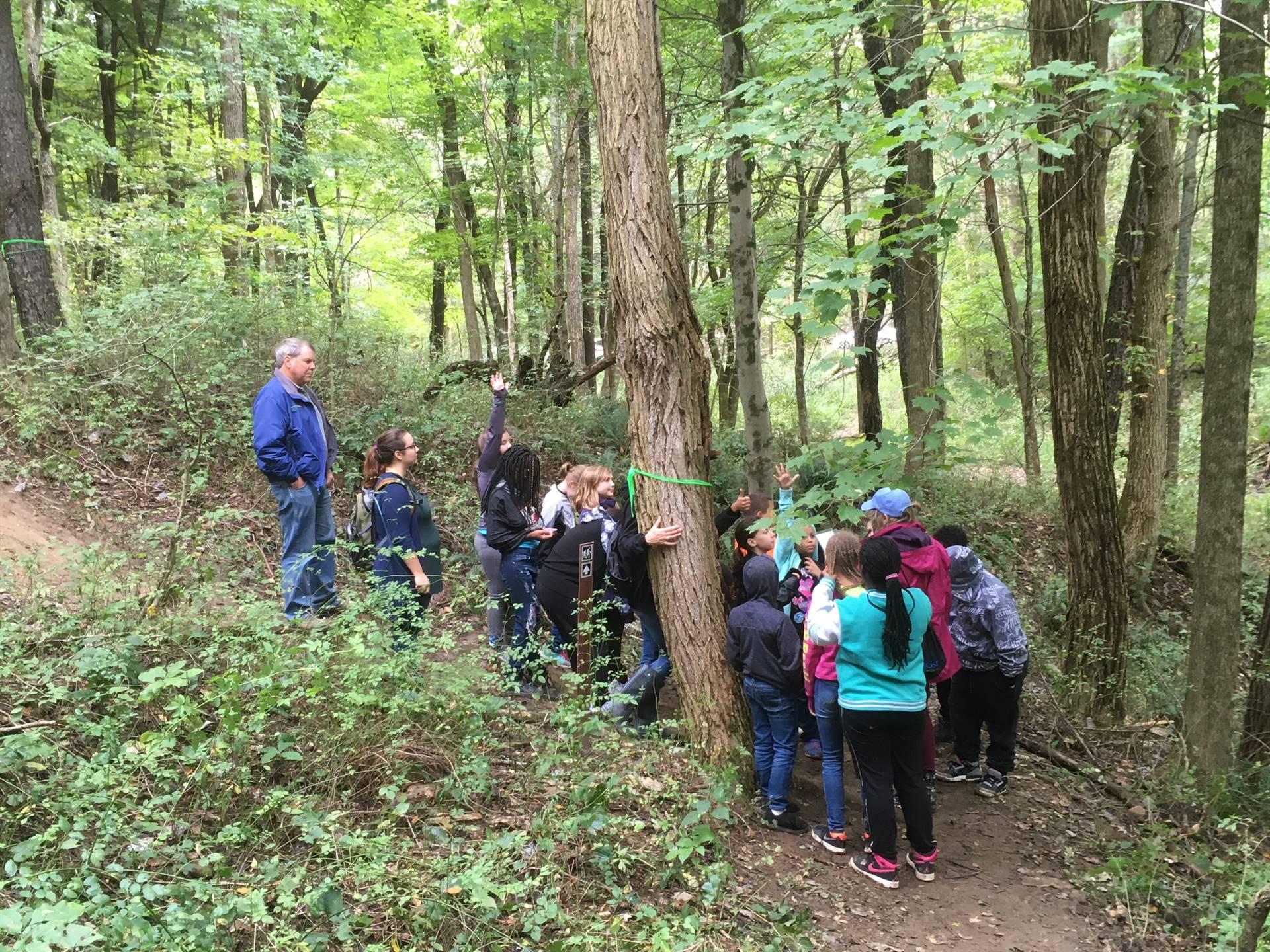 5th Grade at Hemlock Falls Nature Study
