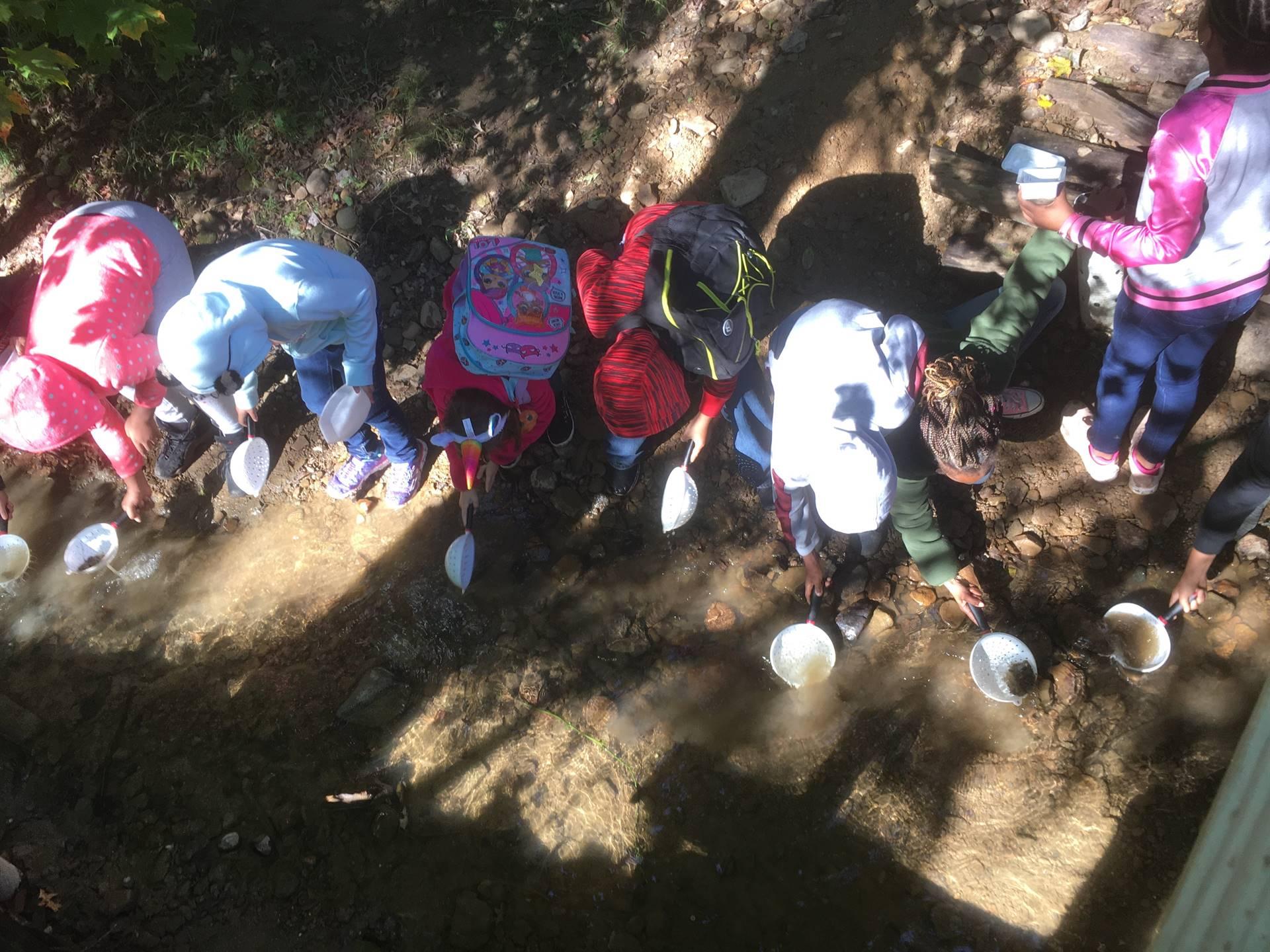 Hemlock Falls with 5th Grade