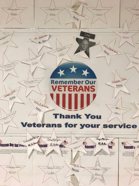 Veteran's Honor Wall 2018