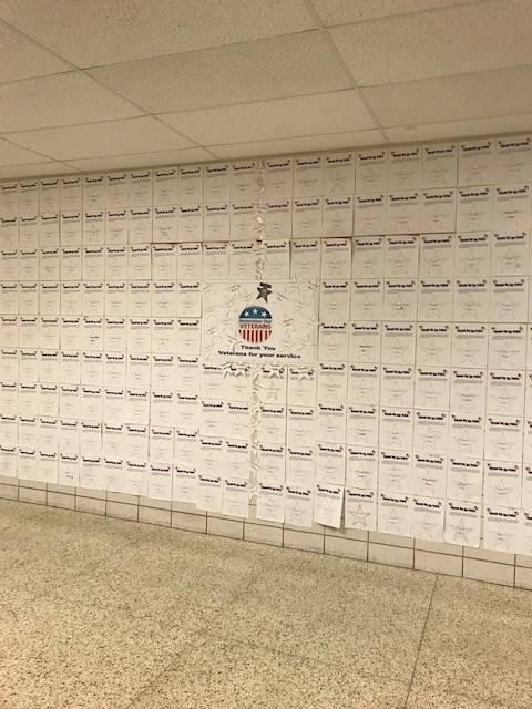 Veteran's Honor Wall 2018