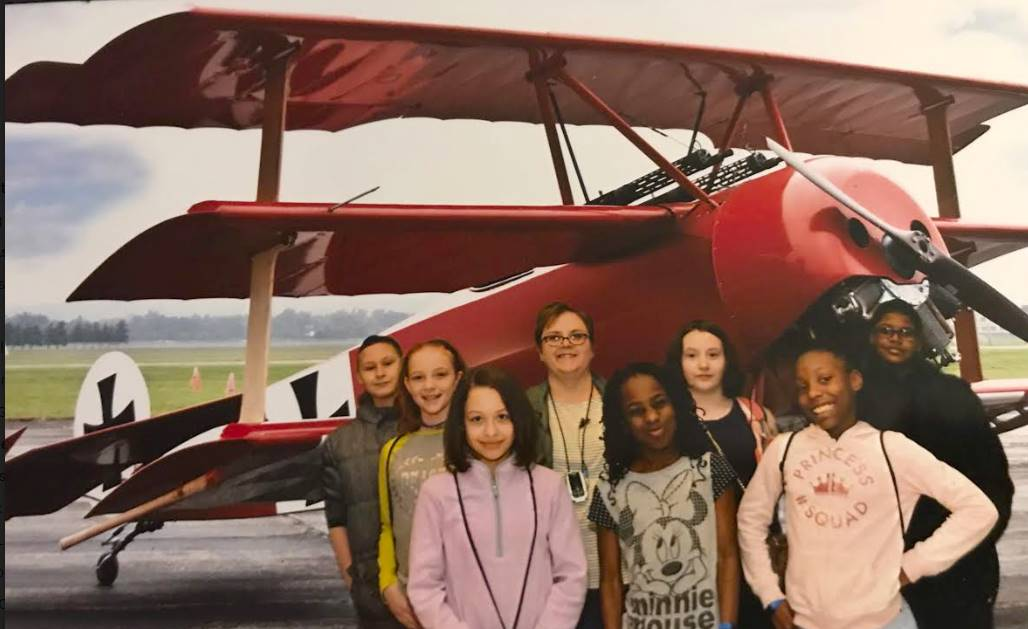 Mrs. Foley's 5th Grade at the Air Force Museum