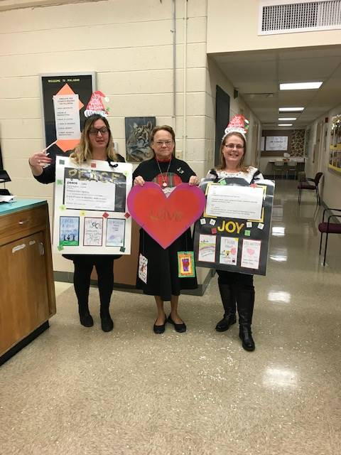 Mrs. Uhde, Mrs. Clark & Mrs. Houseworth