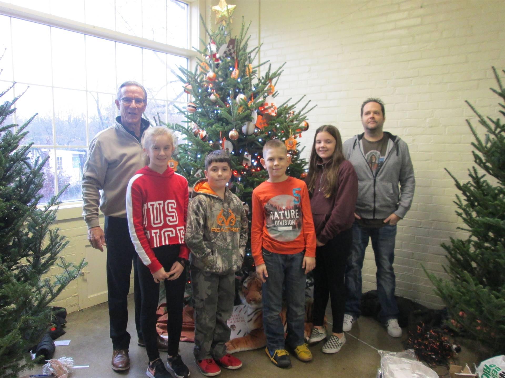 K-Kids & Kingwood Center with Mr. Kelsay & Mr. Grassel