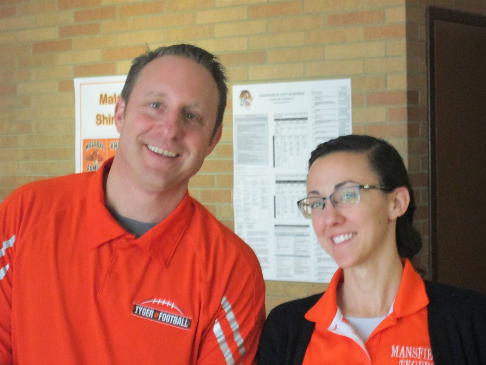 Mr. Hager and Dr. Strang our Principals!