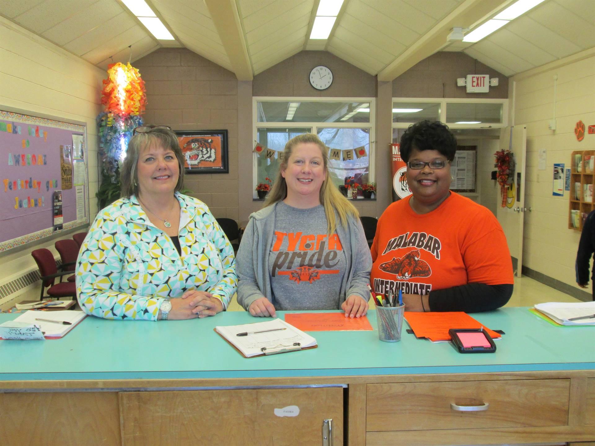 Mrs. Jarrell,Miss Beasley, Mrs. Howard, our Secretaries!