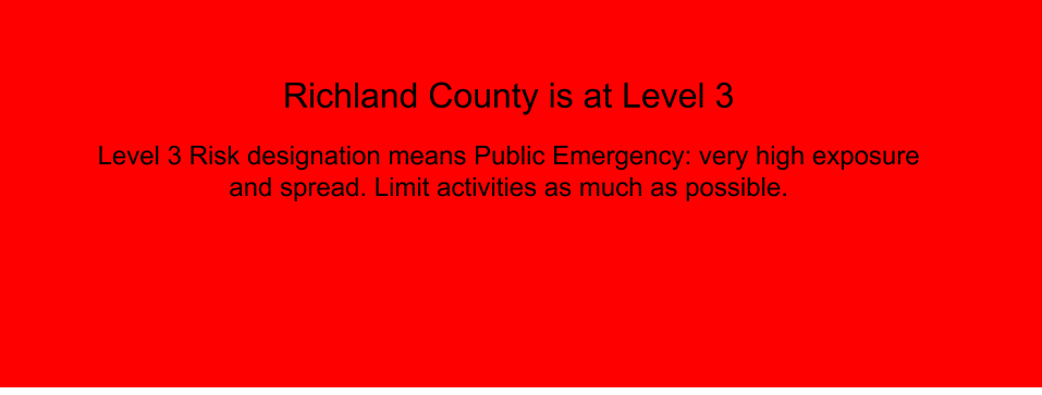 Richland County Current Level