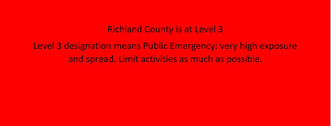 Level 3 Notice