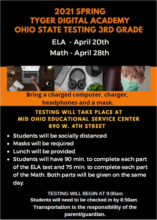 3rd Grade State Testing