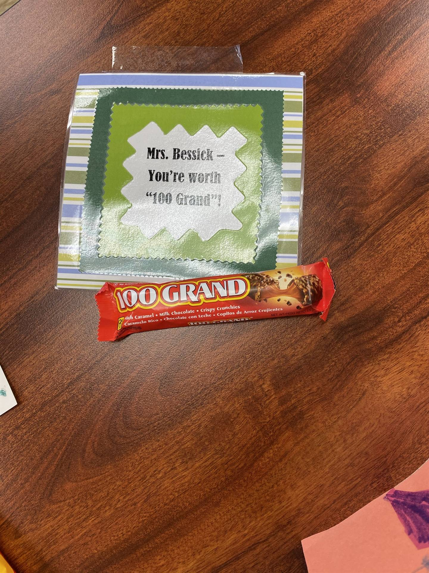 Principal Appreciation 04