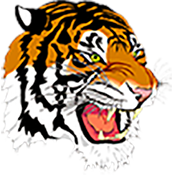 Mansfield City School District Tiger Head Logo